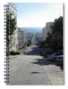 Lombard Street. San Francisco 2010 Spiral Notebook