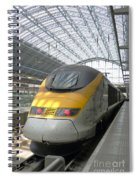 London Arrival Spiral Notebook