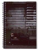 London Bench Spiral Notebook