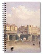 London Bridge, 1835 Spiral Notebook