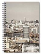 London Cityscape Spiral Notebook