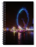 London Eye Art Spiral Notebook