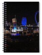 Downtown London Spiral Notebook