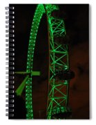 London Eye At Night Spiral Notebook