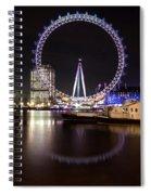 London Eye Night Spiral Notebook