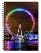 London Eye Pride Spiral Notebook