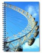 London Eye Spiral Notebook