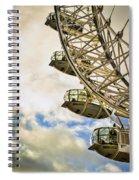 London Eye View Spiral Notebook