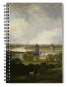 London From Greenwich Park Spiral Notebook