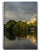 London - Illuminated And Reflected Spiral Notebook