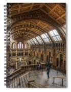 London Natural History Museum Spiral Notebook