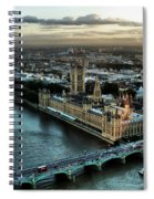 London - Palace Of Westminster Spiral Notebook