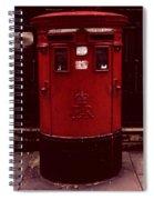 London Post Box 2 Spiral Notebook