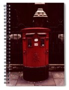 London Post Box Spiral Notebook
