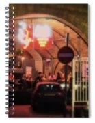 Eating Out In London Spiral Notebook