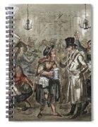 London: Slum, 1821 Spiral Notebook