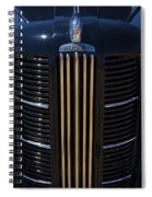 London Taxi Austin Fx3 1950's Era Spiral Notebook