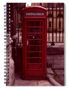 London Telephone Spiral Notebook