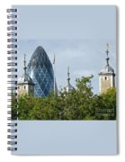 London Towers Spiral Notebook