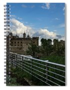 London Underground And The Tower Of London Spiral Notebook
