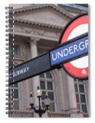 London Underground 1 Spiral Notebook
