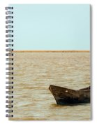Lone Canoe Spiral Notebook