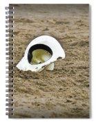 Lone Cowboy Hat Spiral Notebook