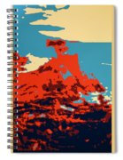 Lone Cypress Poster Spiral Notebook