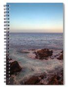 Lone Cyprus Pebble Beach Spiral Notebook