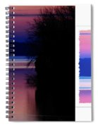 Lone Fisherman  Watersoft Smooth Spiral Notebook