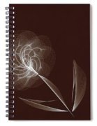 Lone Flower Spiral Notebook