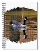 Lone Goose Spiral Notebook