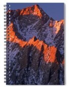 Lone Pine Peak - February Spiral Notebook