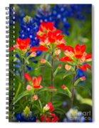 Lone Star Blooms Spiral Notebook