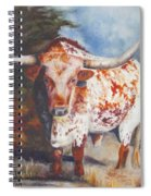 Lone Star Longhorn Spiral Notebook