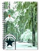 Lone Star State - A Texas Landscape Spiral Notebook