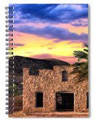 Lone Star Sunset Spiral Notebook