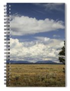 Lone Tree In The Grand Teton National Park Spiral Notebook