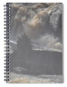 Lone Tree In The Mist Spiral Notebook