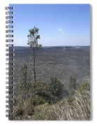 Lone Tree Kilauea Crater Spiral Notebook