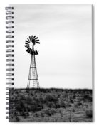 Lone Windmill Spiral Notebook