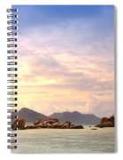 Lonely Boat Spiral Notebook