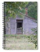 Lonely Doorway Spiral Notebook