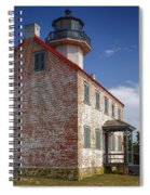 Lonely East Point Lighthouse Spiral Notebook