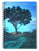 Lonely Giant Tree Spiral Notebook