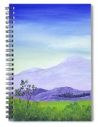 Lonely Mountain Spiral Notebook