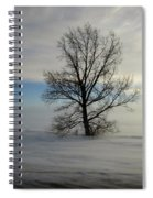 Lonely Prairie Spiral Notebook