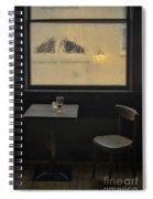 Lonely Bar Scene Spiral Notebook