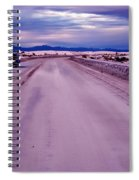 Lonely Road Spiral Notebook