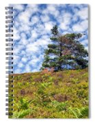 Lonely Tree Spiral Notebook